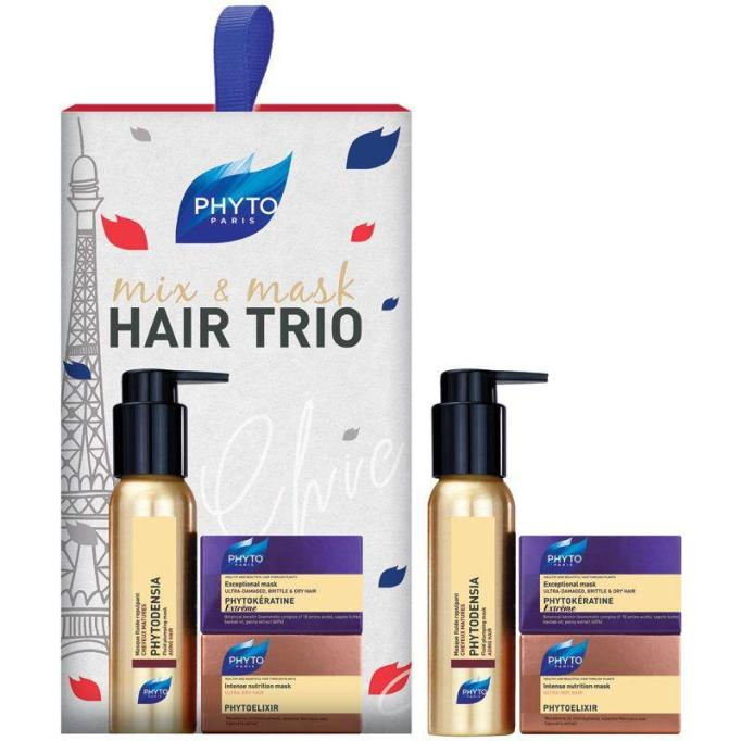 Beauty Products That Will Sell Out Fast This Holiday Season | Phyto Mix & Mask Hair Trio