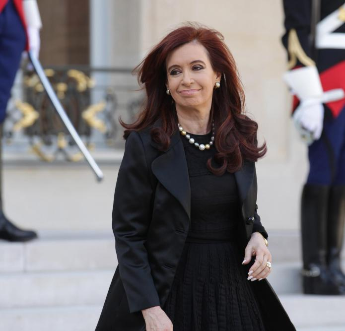 The president of Argentina adopted a