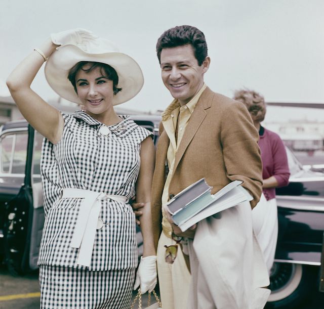 Celebrity couples who were friends first: Elizabeth Taylor & Eddie Fisher