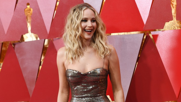 Jennifer Lawrence attends the 90th Annual