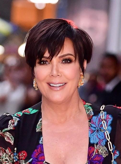Celebrity Pixie Cuts | Kris Jenner
