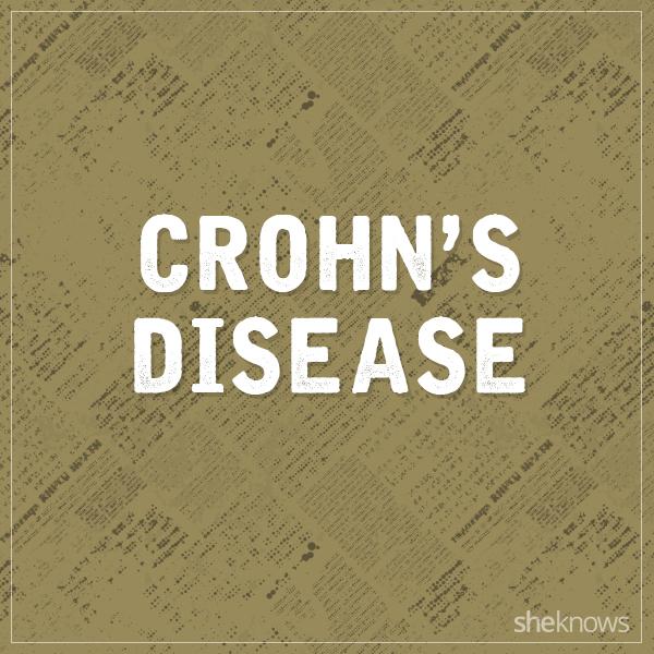Crohn's disease graphic