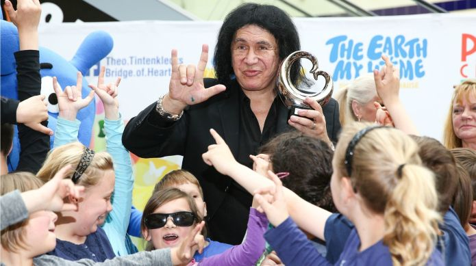 Gene Simmons possibly hacked by a