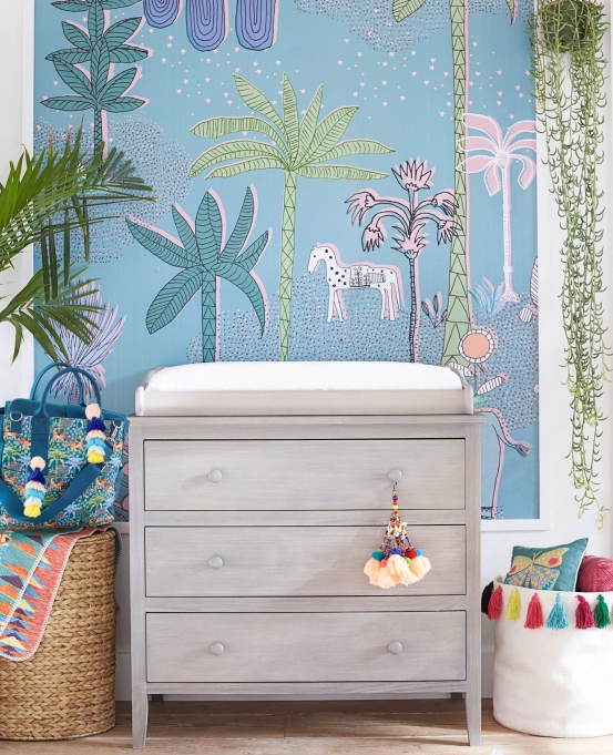 Justina Blakeney X PB Kids Is Every Tiny Bohemian's Dream: Changing Table