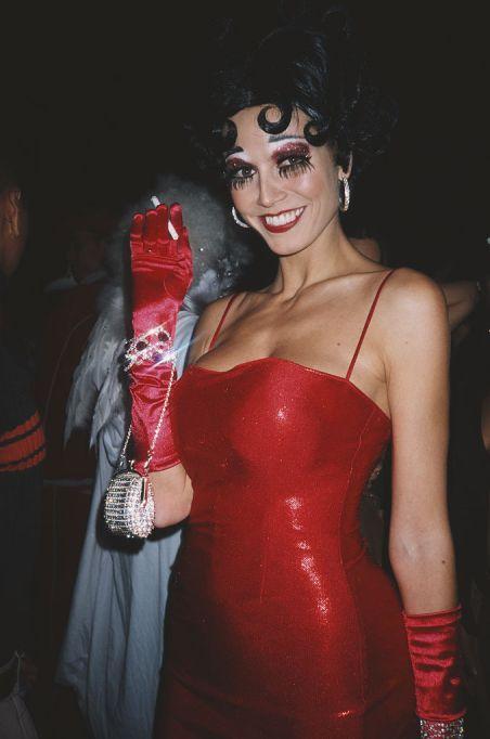 Heidi Klum's Halloween Costume: Betty Boop
