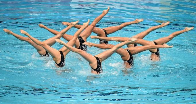 China synchronized swimming team