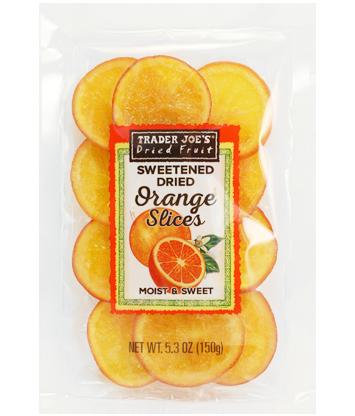 trader joe's dried orange slices