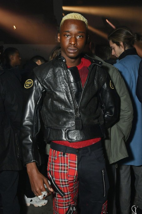 NYFW 2018 Celebrity Sightings: Ashton Sanders