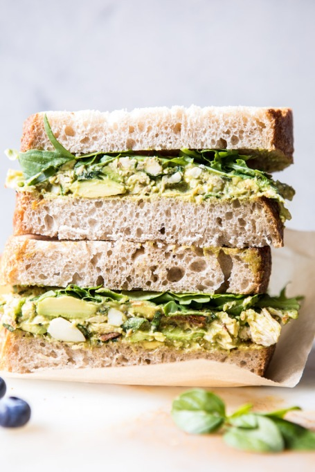 Avocado recipes that don't involve toast: avocado chicken salad