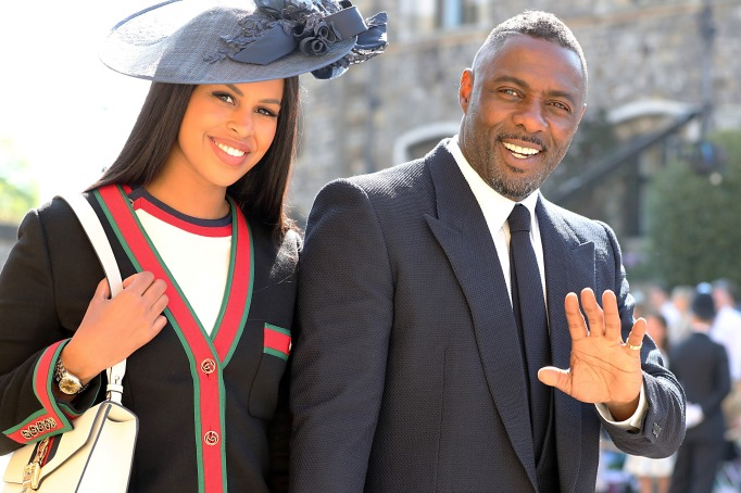 Sabrina Dhowre & Idris Elba royal wedding