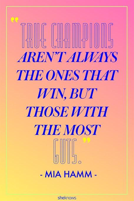 Inspiring Quotes From Female Athletes: Mia Hamm