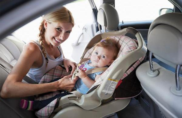 Driving safely with baby on board