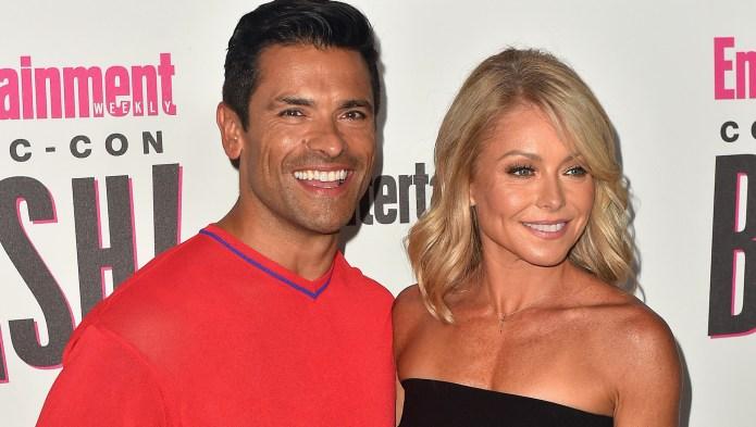 Mark Consuelos and Kelly Ripa attend