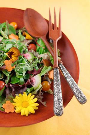 Edible flowers: Beautiful, fragrant, and flavorful