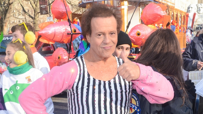 Richard Simmons at the Macy's Thanksgiving