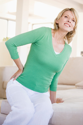 Woman wtih aches