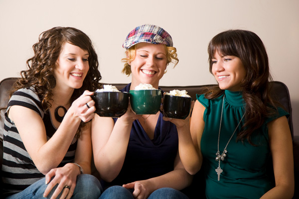 3 Woman at Coffee Shop