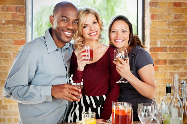 Friendsgiving celebration