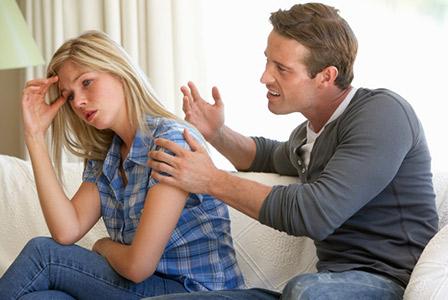 woman being emotionally abused by boyfriend