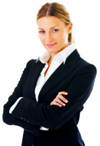 Woman - business suit