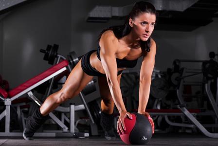 Woman doing speedx workout