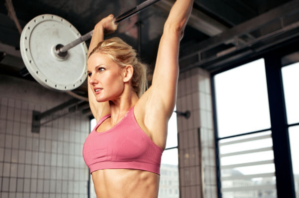 Woman Lifting Weights | SheKnows.com.au
