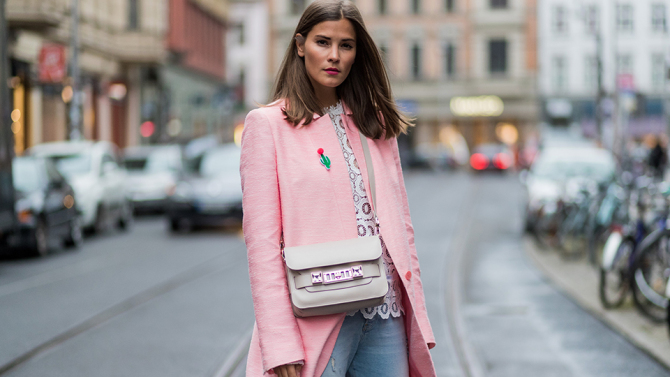 Beauty Necessity That Mom's Won't Give Up: Pink Coat