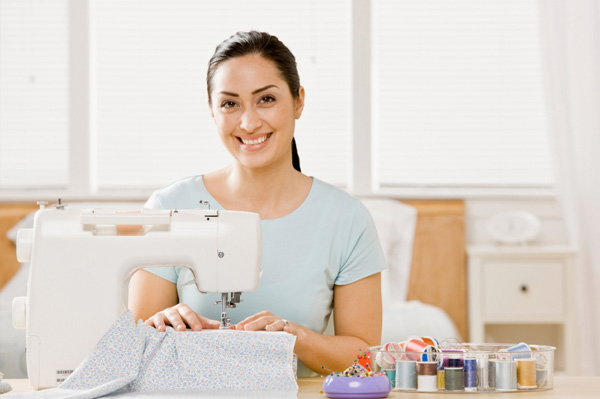 woman-sewing-at-home