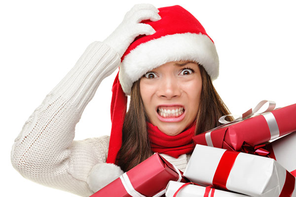 Woman stressing out over Christmas | Sheknows.ca