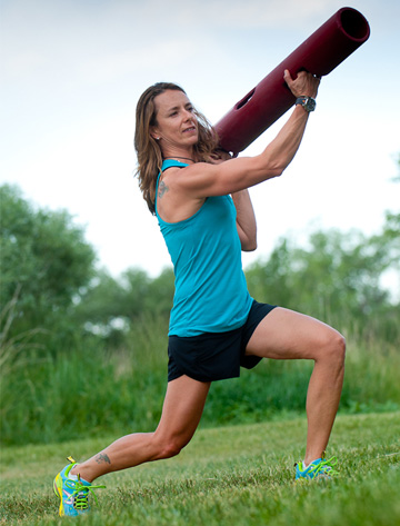 Woman using ViPR