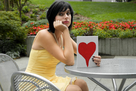 Woman waiting on love