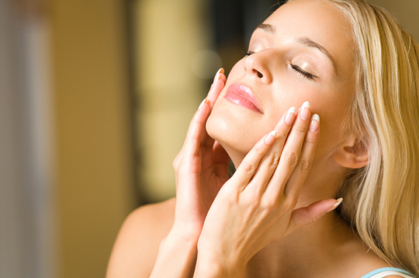 Glowing, healthy skin