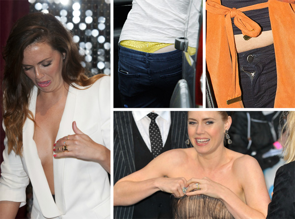 Celebrity wardrobe malfuntions