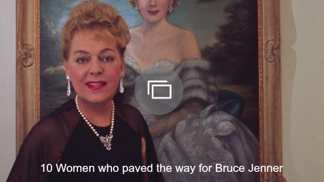 women who paved way bruce jenner slideshow