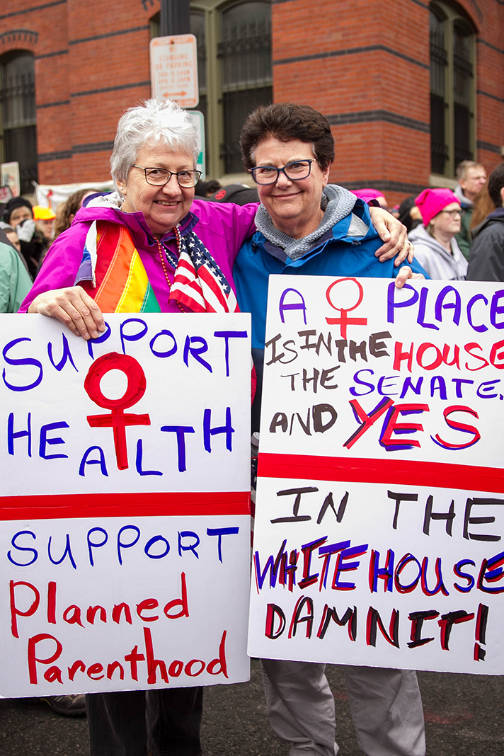 Why Women Marched: Anne and Judy