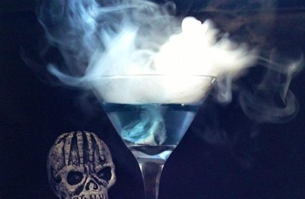 Morphing martini recipe