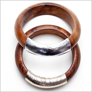 set of two super-chic bangles