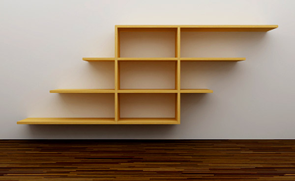Basic Shelves Are Easy And Inexpensive To Construct Using Wood Plywood Or Fiberboard Cut Specific Lengths Widths Hanging Them From Metal