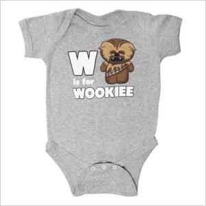 W is for Wookiee onesie