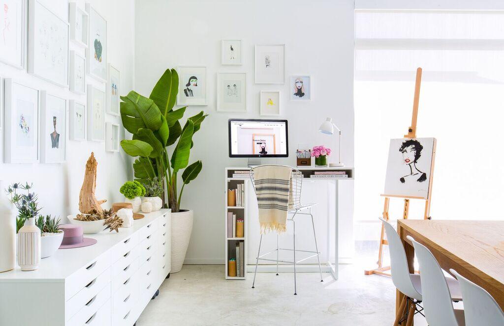 Artist's Loft Work Space