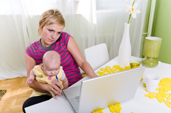 Work from Home Mom
