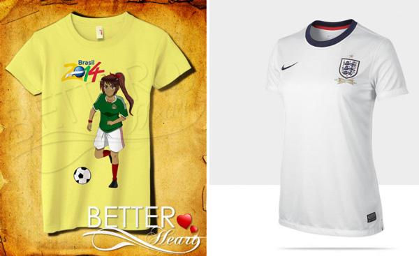 World Cup tshirts