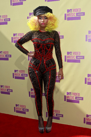 Nicki Minaj at the MTV VMAs
