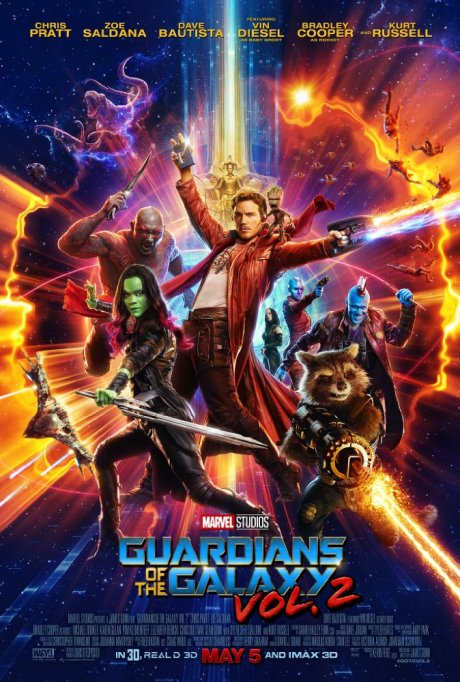 'Guardians of the Galaxy Vol. 2' movie poster