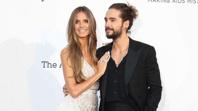 Heidi Klum and Tom Kaulitz arrive