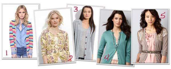 10 Perfect spring cardigans for less