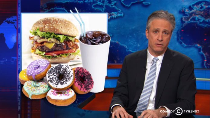 Jon Stewart takes down chain restaurants