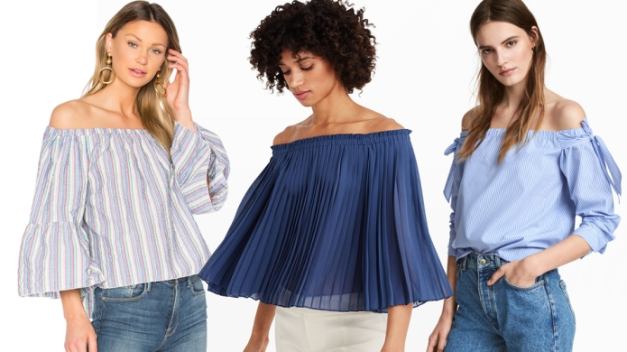 13 Off-the-Shoulder Tops to Ring in
