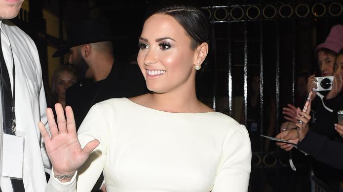 Demi Lovato puts Meghan Trainor on