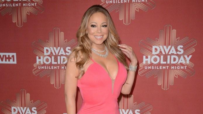 Mariah Carey's people say she was